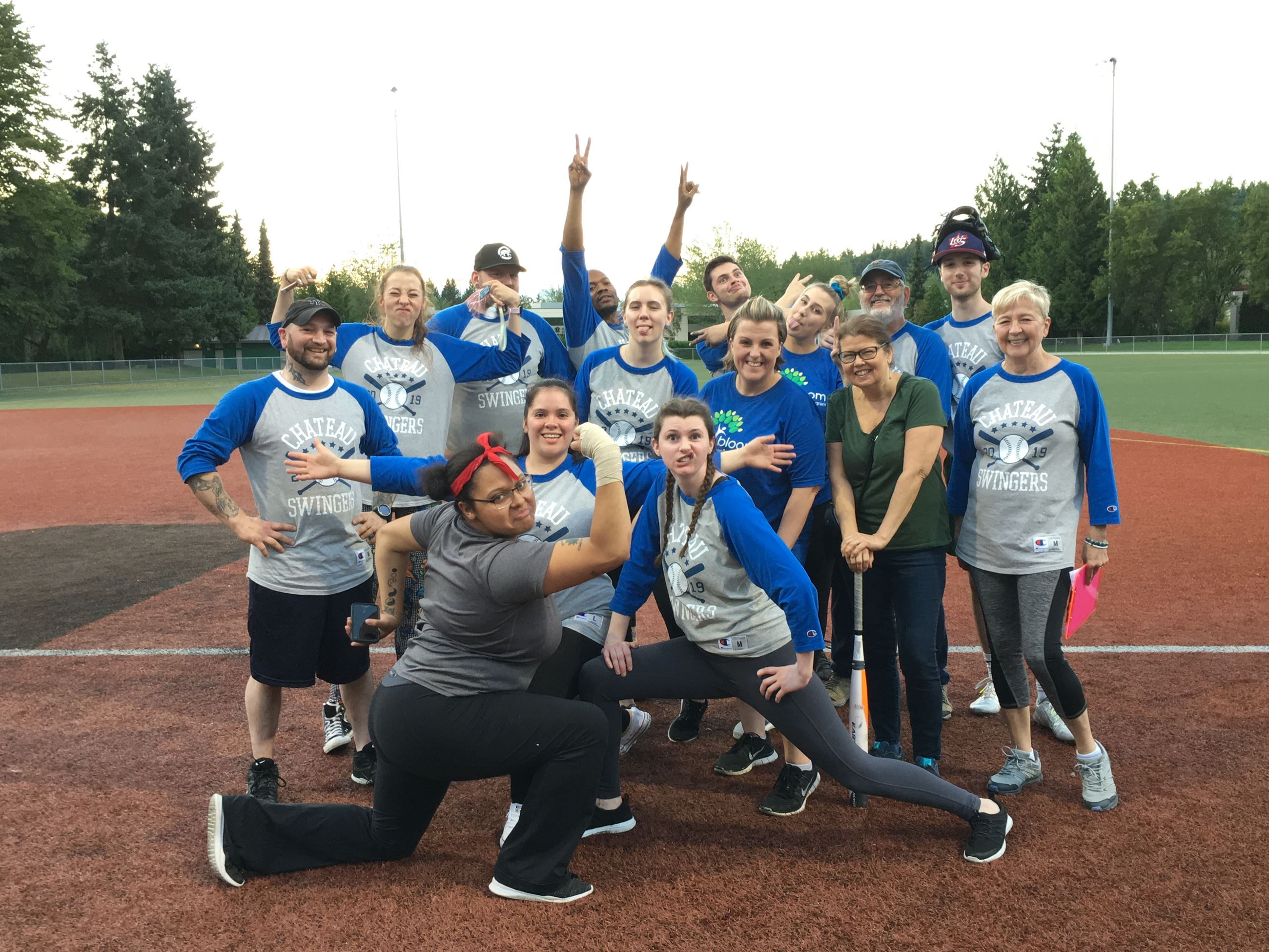 Bothell Softball Team