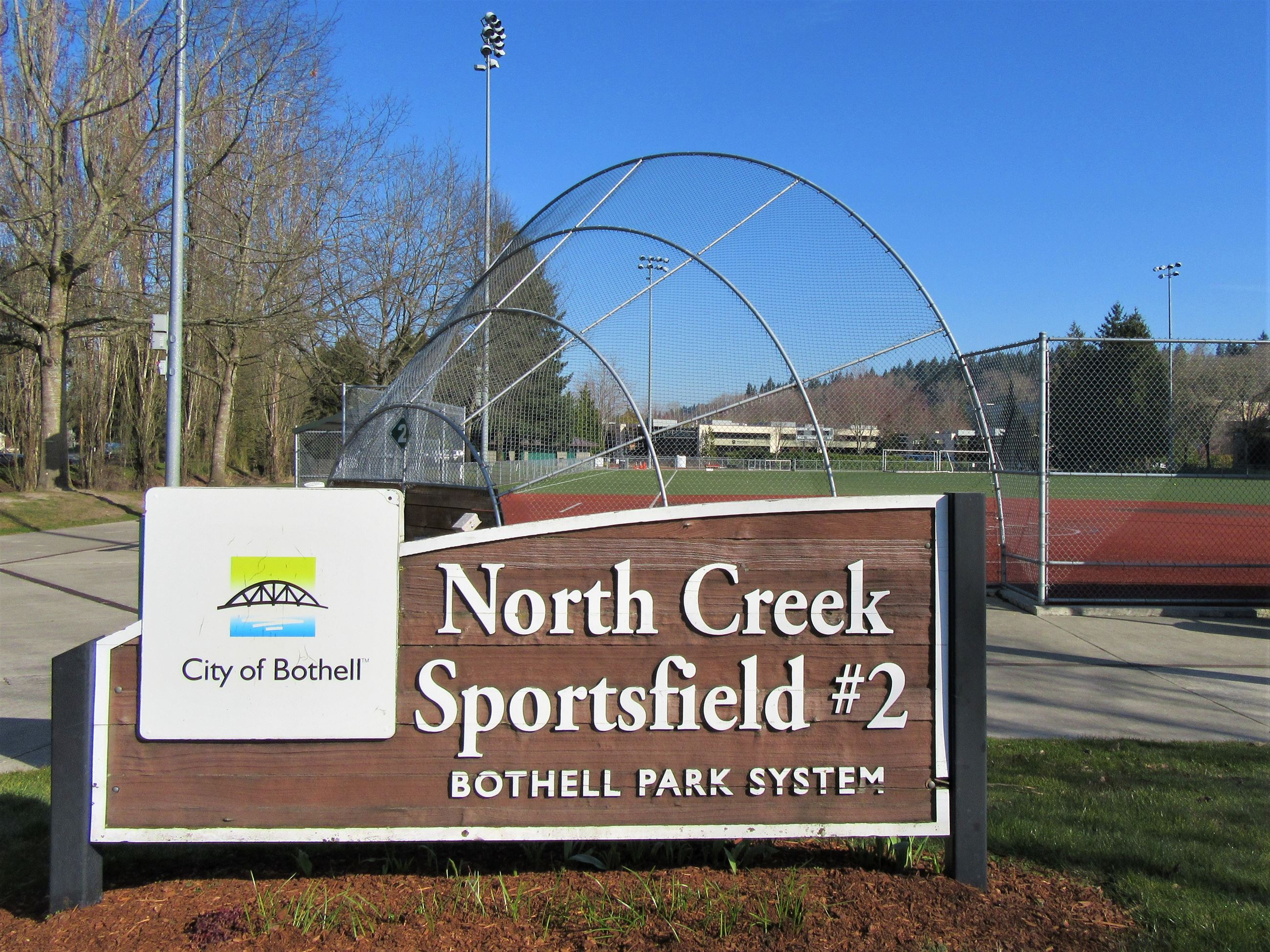 North Creek Sportsfields sign 2