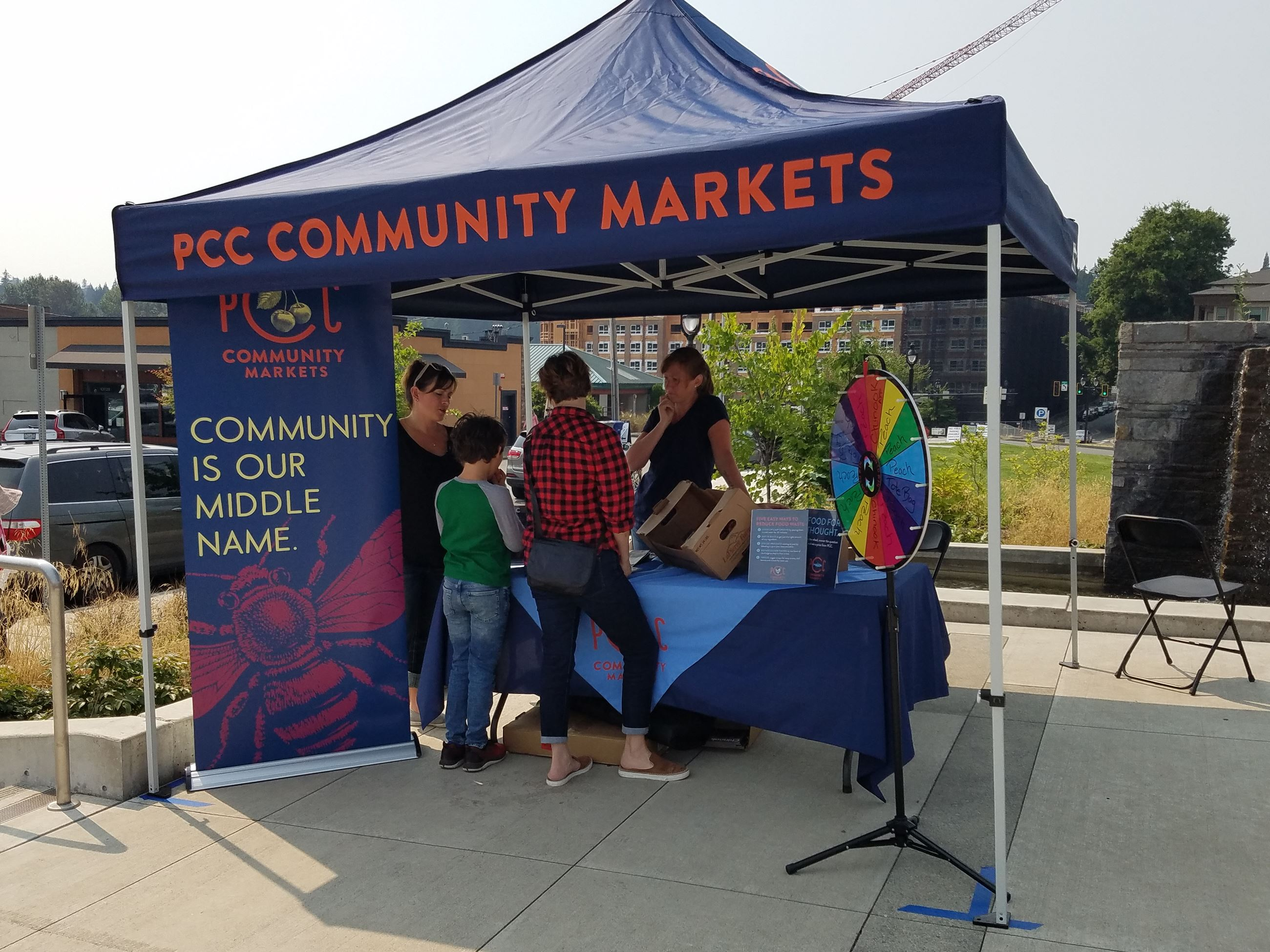 image PCC Community Market booth