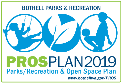 Logo for the PROS Plan project with images of kids and nature