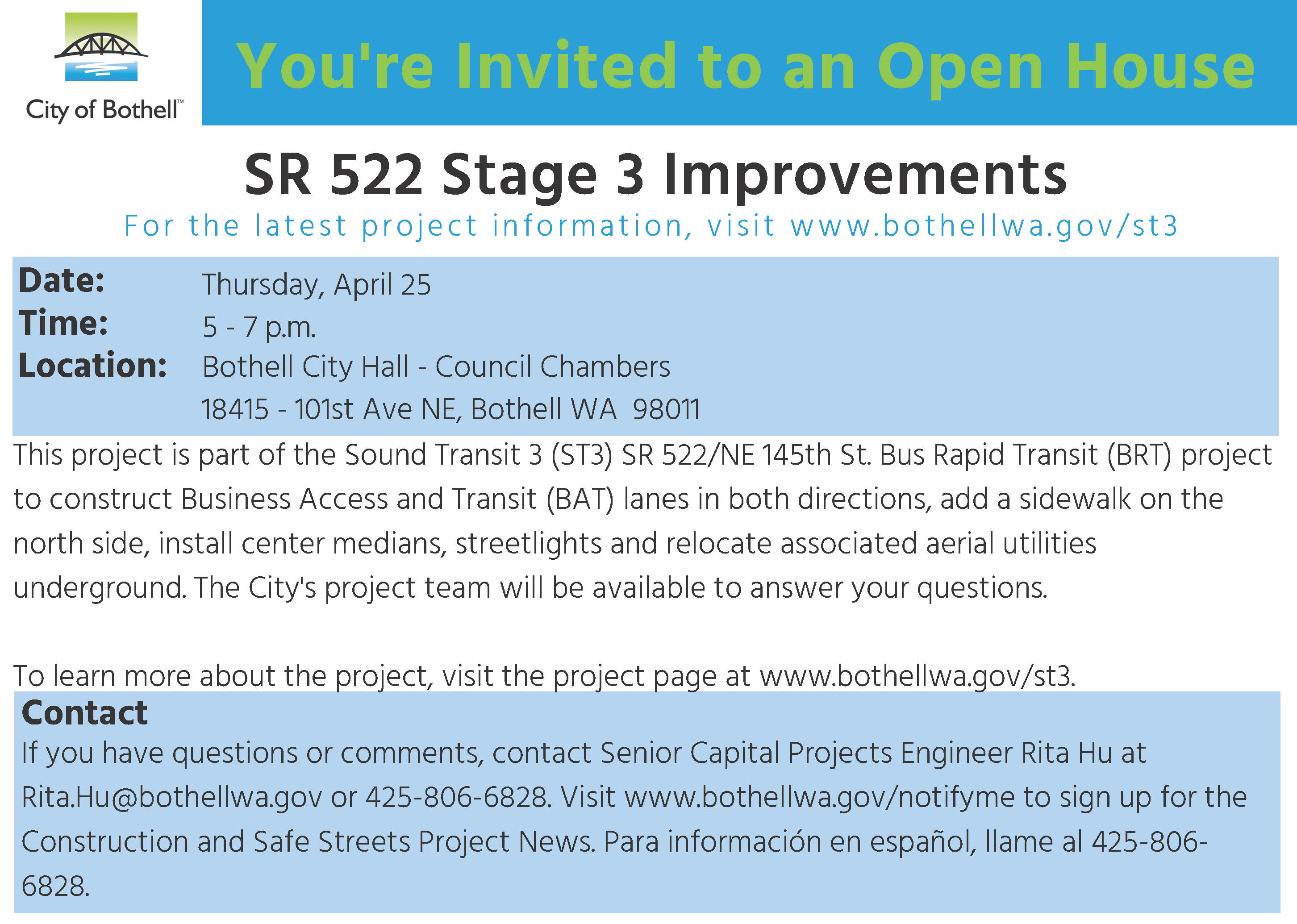 SR522 Stage 3 Open House
